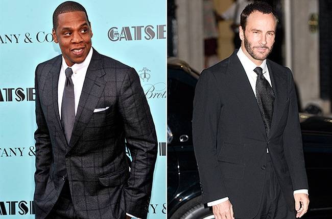 Jay-Z and Tom Ford Photo: Getty Images