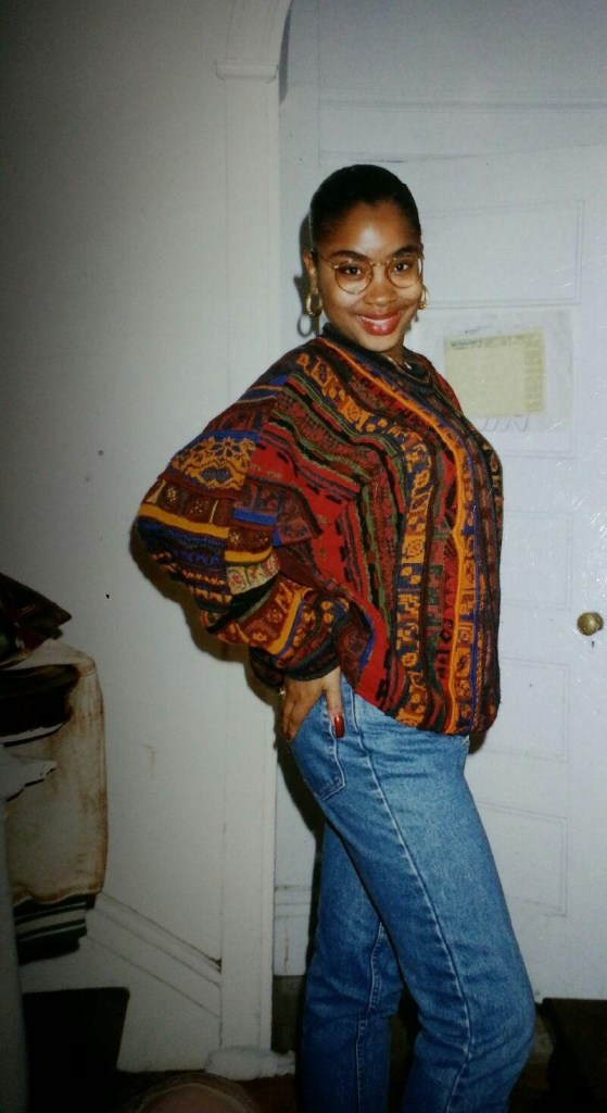 "High School, after the Lupus diagnosis. ""Stay fly, no lie"" ""Coogi down to the socks!"""