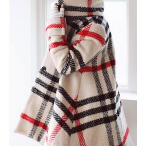 Vanesa Plaid Swing Coat