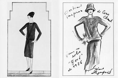 chanel sketch 1926