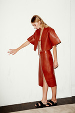 Chadwick_Bell_Red Leather Dress