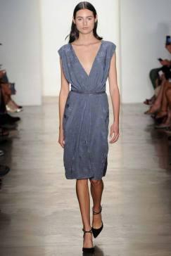 Costello K Deep V Dress