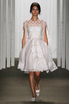 Honor_White Scalloped Dress