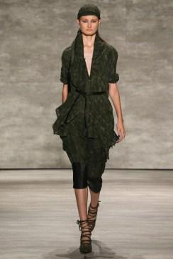 Nicholas K DeepV_Tied_Shirt Dress