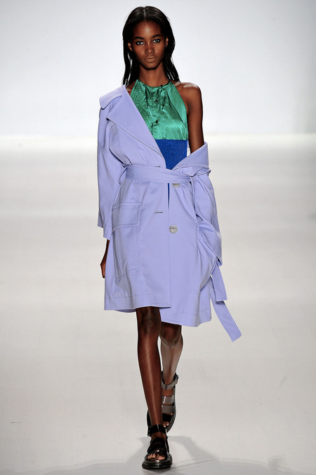 Richard Chai Love_Pastel Blue Trench