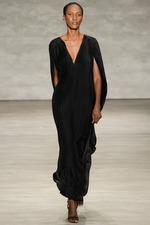 Tome_DeepV Black Dress