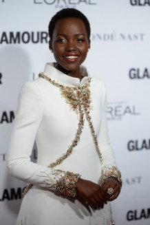 Glamour Woman of the Year Awards- Lupita in Chanel Couture Photo: Dimitrios Kambouris Getty