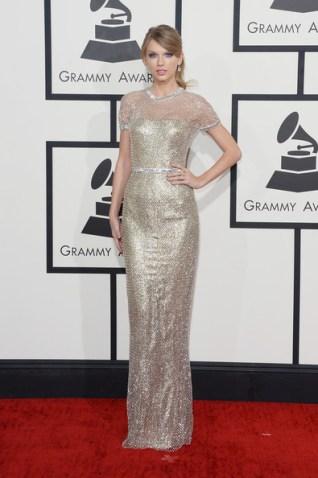 Grammy Awards 2014 - Taylor in Gucci Photo: Jason Merritt