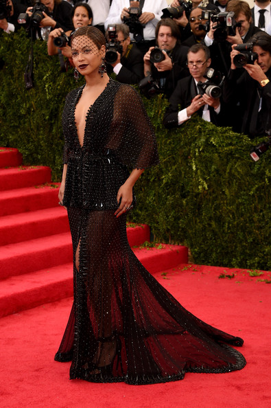 Beyonce at MET Gala in Givenchy Couture Photo: Larry Busacca/Getty