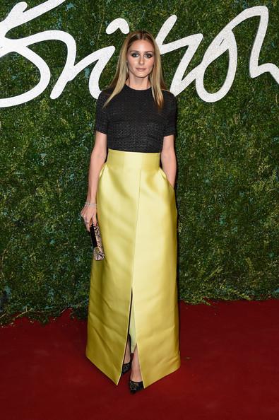 Olivia Palermo at the British Fashion Awards in PEmilia Wickstead