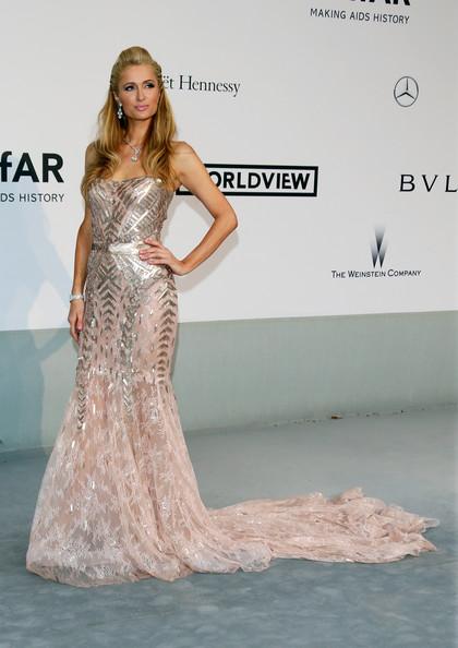 Paris Hilton at the amFARs