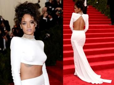 Rihanna 2014 Met Gala in Dolce & Gabbana