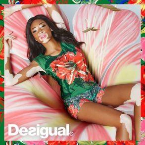 Desigual SS15 Campaign Photo Winnie Harlow2