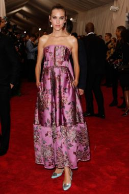 Alexa Chung in Erdem Photo: Getty Images