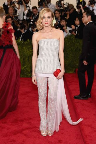 Diane Kruger in Chanel Couture Photo: Getty