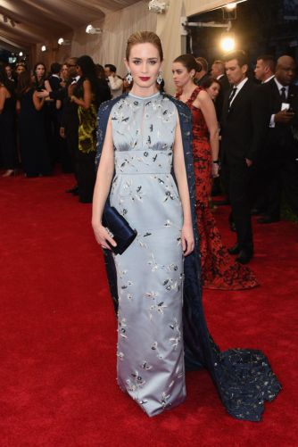 Emily Blunt in Prada Photo: Getty Images