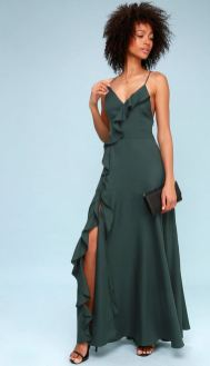 Lulu's Teal Dress (front)