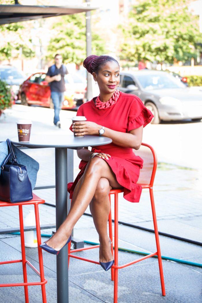 Work Style: A Dressy Valiant Poppy