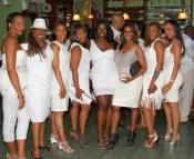 All White Party Dress