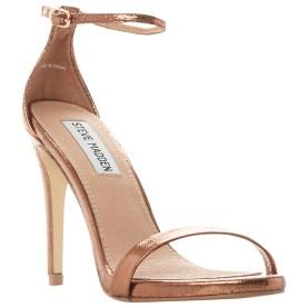 Steve Madden bronze heel