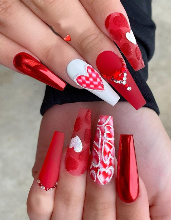 Cute & Stylish Red Nails Trend for 2020