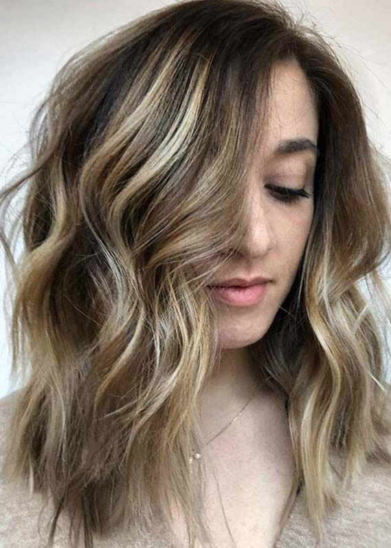dimensional bronde hair colors and hairstyles for Women 2020