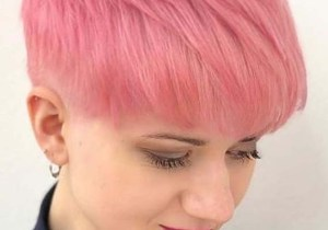 Amazing Pink Pixie Haircuts for Women to Wear in 2020
