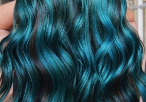Beautiful aquamarine hair color ideas for women in 2020