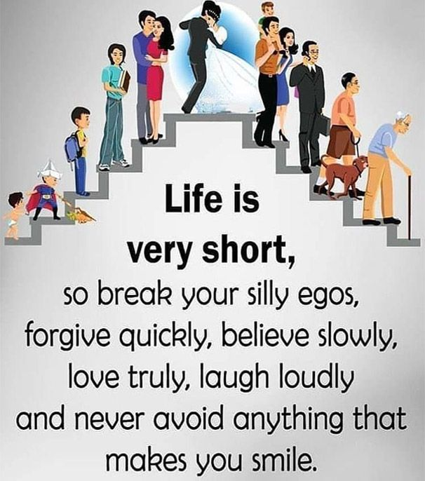 Break Your Silly Egos - Best Life Quotes for Everyone