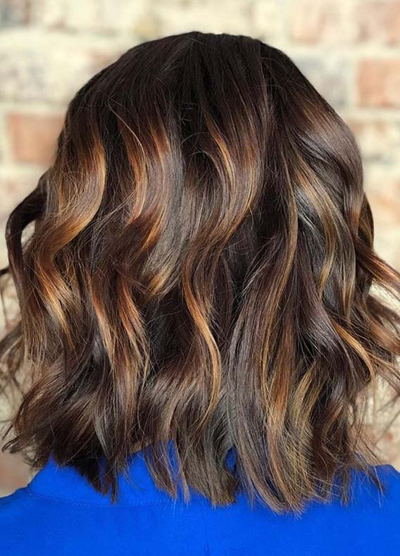 Caramel Brown Hair Color Shades for Women in 2020