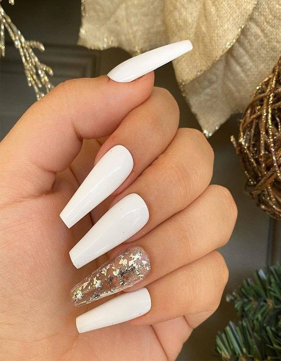 Extra Beautiful Long Coffin Nails & Style for 2020