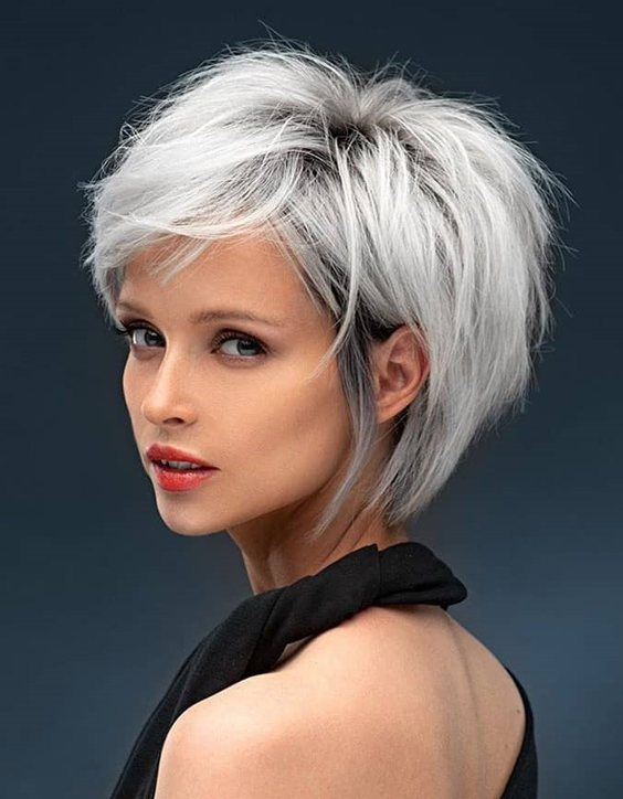 Brilliant Style of Short Hair Color & Looks In 2020