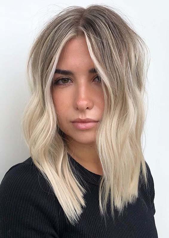 Cute Face Framing Medium to Long Hairstyles in 2020