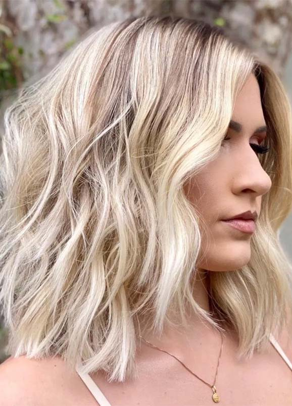 Easy Medium Haircuts for Thick Hair Women in 2020