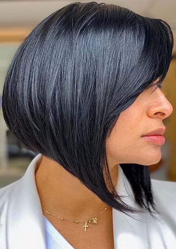 Gorgeous Shapes Of assymetrical Bob Haircuts for 2020