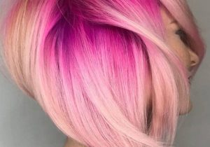 Incredible Style of Pink Hair & Highlights for Short Hair