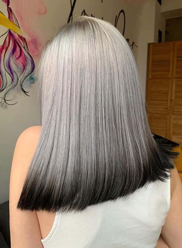 Best Metallic hair color Shades to Show Off in 2020