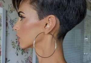 Edgy Look of Short Pixie Cut for Bold Style