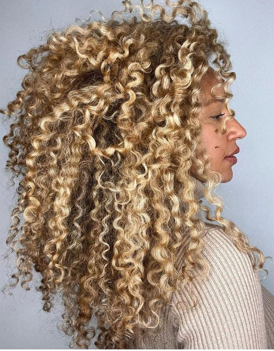 Attractive Style of 2021 Curly Hair to wear Now