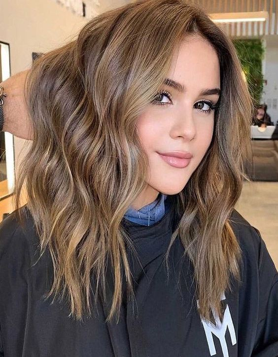 Delightful 2021 Balayage Highlights for Beautiful Girls