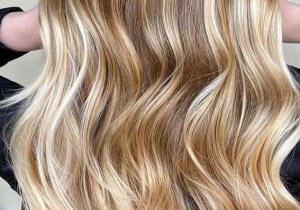 Fantastic Golden Balayage Hair Color Ideas