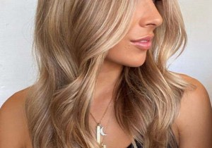 Elegant Shades Of Balayage Color for Long Locks