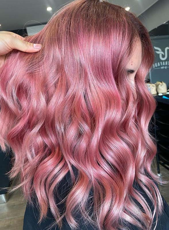 Dreamy Pink Hair Color Trends to Follow