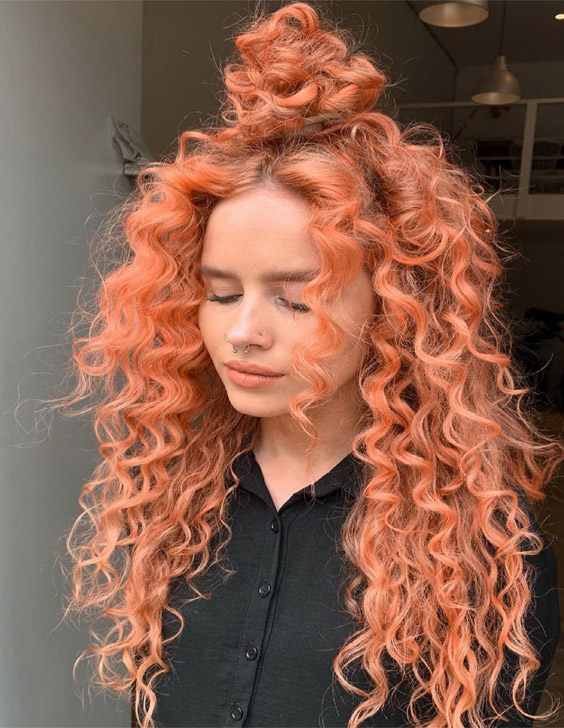 Hottest Look of Curly Hairstyle for Next Event