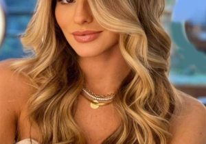Stunning Look of Hair Color Style for Long Hair