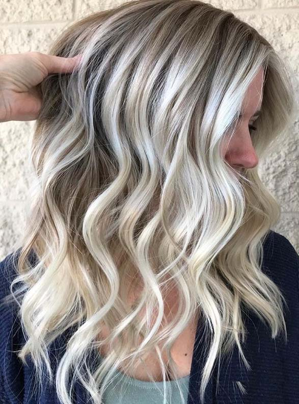 Elegant Blonde Hair Color Dimensions