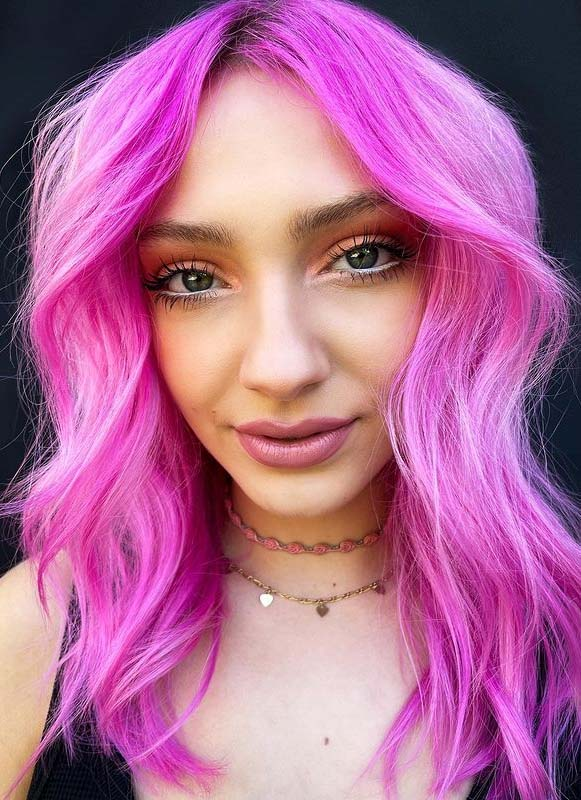 Fresh Pink Hair Color Trends to Sport