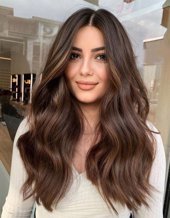 Gorgeous Warm Blonde Highlights for Long Hair