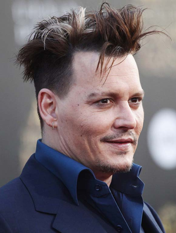 Depp Haircut for Men