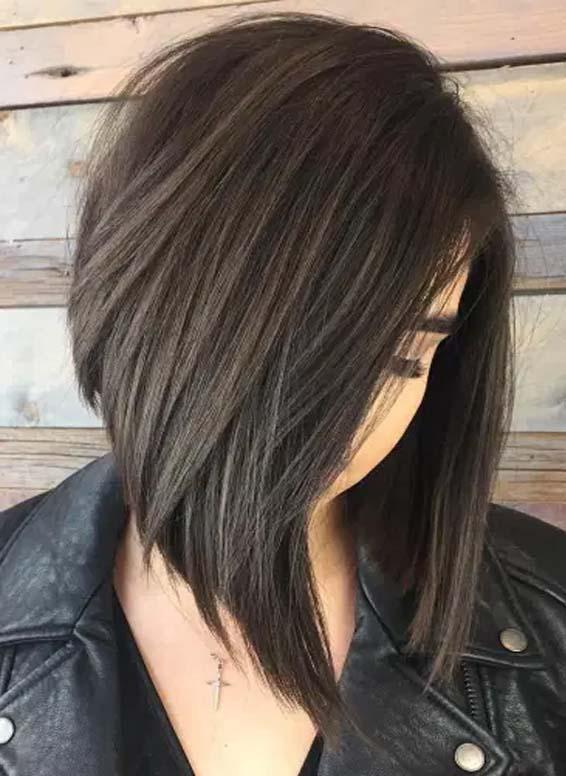 A-Line Bob Hair Trends